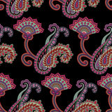Paisley seamless pattern Royalty Free Stock Photo