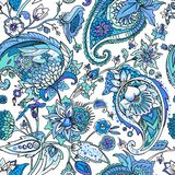 Paisley. Traditional oriental pattern in modern execution. Seamless pattern. Royalty Free Stock Photos
