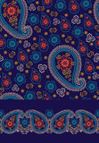 Paisley seamless pattern ,border set Stock Photos