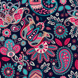 Paisley seamless pattern royalty free stock images