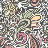 Paisley seamless pattern. Model for design of gift packs, patterns fabric, wallpaper, web sites, etc Royalty Free Stock Photos