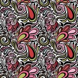 Paisley seamless pattern. Model for design of gift packs, patterns fabric, wallpaper, web sites, etc Stock Photo