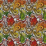 Paisley seamless pattern Stock Image