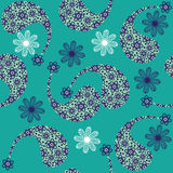 Paisley seamless pattern (pattern Bootha). Seamles Royalty Free Stock Photo