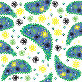 Paisley seamless pattern. Seamless pattern can be  Stock Images