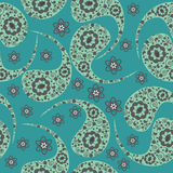Paisley vector seamless pattern and seamless patte Stock Photo