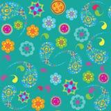 Paisley seamless pattern,  seamless pattern in swa Stock Photo
