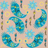 Paisley seamless pattern , vector Stock Image