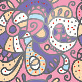 Paisley seamless pattern for silk Stock Photography