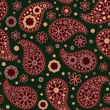 Paisley seamless pattern.  The style boho Royalty Free Stock Image