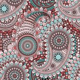 Paisley. Seamless pattern with traditional Asian elements Paisley vector illustration