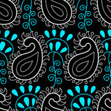 Paisley seamless pattern. Vector floral wallpaper Stock Photography