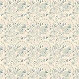 Paisley seamless pattern. On white background Stock Photography