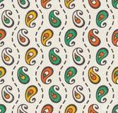 Paisley seamless print. Stock Image