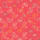 Paisley seamless print. Royalty Free Stock Photo