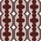 Paisley seamless retro cloth pattern. Royalty Free Stock Image