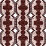 Paisley seamless retro cloth pattern. Royalty Free Stock Image