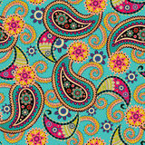 Paisley Seamless Texture Stock Photo