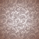 Paisley seamless vector background Stock Photos