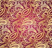 Paisley seamless wallpaper Stock Image