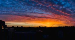 Paisley soluppgång Arkivbilder