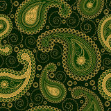 Paisley style seamless ornament Royalty Free Stock Photos