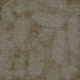 paisley tappningwallpaper Royaltyfri Bild