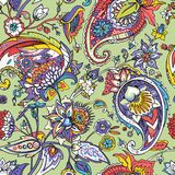 Paisley. Traditional oriental pattern in modern execution. Seamless pattern. Stock Images