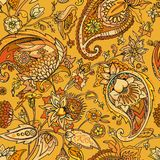Paisley. Traditional oriental pattern in modern execution. Seamless pattern. Stock Image