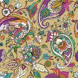 Paisley. Traditional oriental pattern in modern execution. Seamless pattern. Stock Photo
