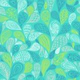 Paisley vector seamless pattern Royalty Free Stock Photo