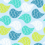 Paisley vector seamless pattern Royalty Free Stock Photography