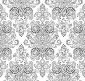 Paisley vector seamless Royalty Free Stock Photo