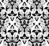 Paisley vector seamless Royalty Free Stock Photos