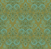 Paisley vector seamless Stock Image