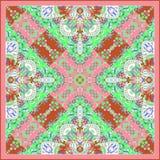 Paisley-Verzierung für Schal Stockbilder