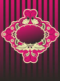 Paisley Vintage frame Royalty Free Stock Images
