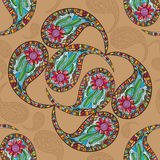 Paisley vintage seamless pattern Stock Photography