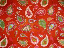 paisley wallpaper Arkivbild