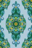 paisley wektor deseniowy bezszwowy Zdjęcie Royalty Free