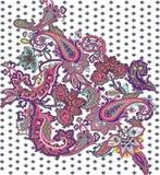 Paisley wzór Zdjęcie Royalty Free