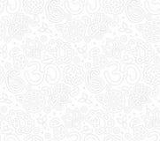Paisley zen pattern Stock Image