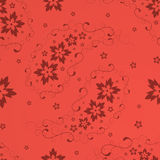 Paisleynahtloses pattern_red Lizenzfreies Stockfoto