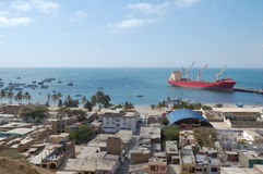 paita Перу гавани Стоковая Фотография