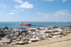 Paita harbor Peru Royalty Free Stock Image