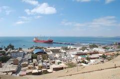 paita Perù del porto Immagine Stock Libera da Diritti