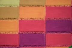 Paited brick. Royalty Free Stock Images