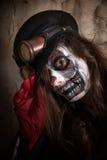 Paiting Clowngesicht Lizenzfreies Stockbild