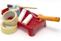 Paiting tools 3 Stock Photo