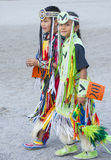 Paiute Tribe Pow Wow. LAS VEGAS - MAY 24 : Native American boys takes part at the 25th Annual Paiute Tribe Pow Wow on May 24 , 2014 in Las Vegas Nevada. Pow wow stock photo